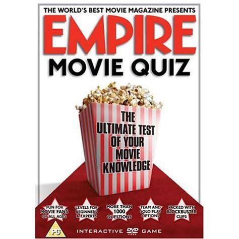 film quiz dvd empire interactive film quiz dvd zavvi com