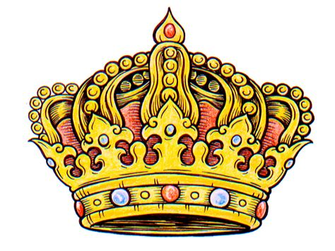 crown color king crown logo design clipart best