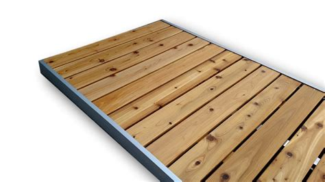 dock sections for sale 10x4 cedar dock section