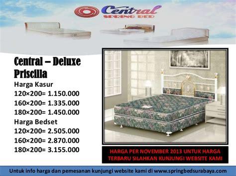 Bed Bigland Ukuran 160x200 harga bed central surabaya