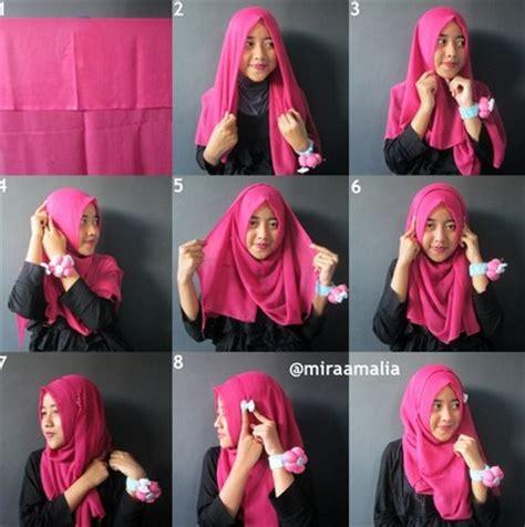 tutorial hijab simple tapi syar i ingin til gaya tapi tidak ingin ribet tutorial hijab
