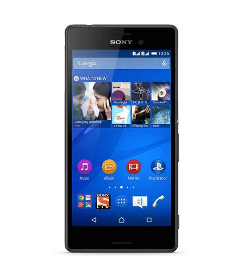 Hp Sony Xperia M4 Aqua Single Sim by Sony Xperia M4 Aqua Dual 16gb Black Price In India Buy