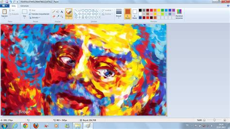 painting for windows 7 windows 7 paint portrait by ahmetbroge on deviantart