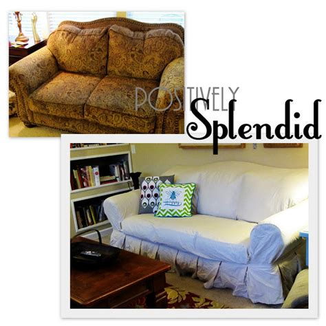 ugly sofa slipcovers ugly sofa slipcover giveaway positively splendid