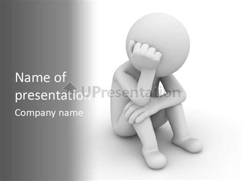 depression powerpoint template depression emotional stress powerpoint template id