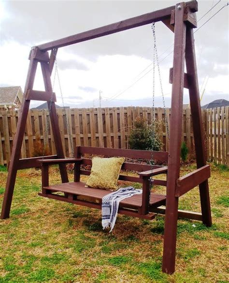 diy outdoor swing how to build an outdoor swing