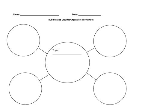 free graphic organizer templates map graphic organizers worksheet bay academic