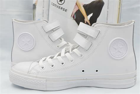 Converse All Fullwhite Sneakers Putih white high tops converse velcro leather ct all shoes d54282 get stylish