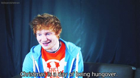 ed sheeran xmas ed sheeran christmas gif find share on giphy