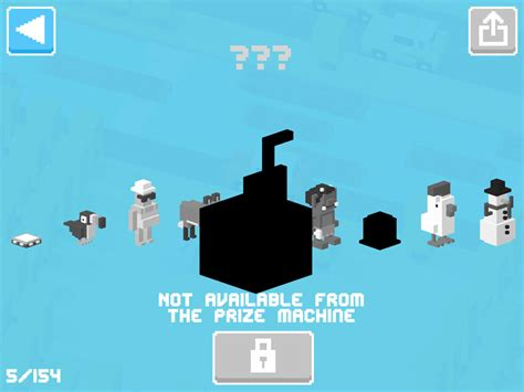 all the mystery characters in cross road how to unlock every character in crossy road 2016