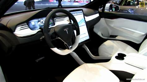 tesla model x suv interiors
