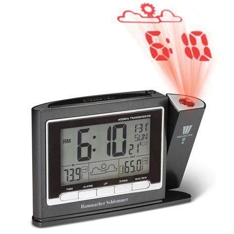 Projection Digital Clock the best projection clock hammacher schlemmer