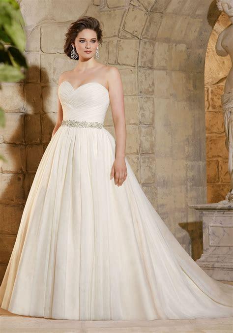 draped wedding dress asymmetrically draped soft net morilee bridal wedding