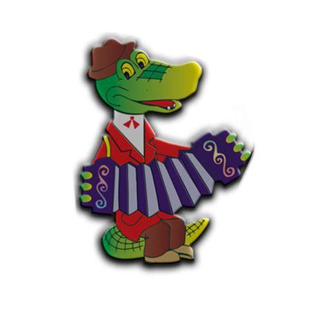 Крокодил гена играет на гармошке картинки