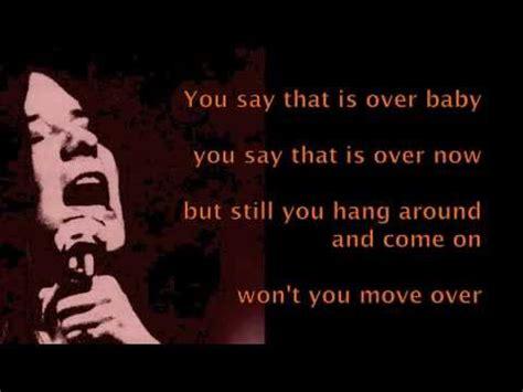 janis joplin move  lyrics youtube