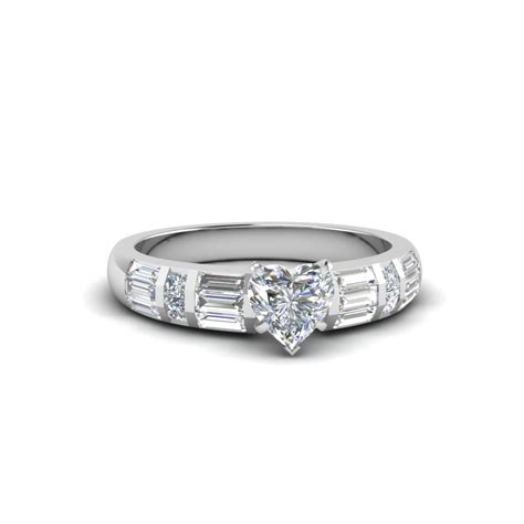 marquise cut baguette and princess accent