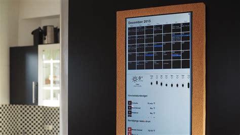 Build A Calendar Build A Smart Calendar And Notification Centre With A