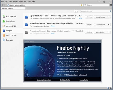 this plugin is not supported android firefox 52 nightly plugin support except flash dropped ghacks tech news