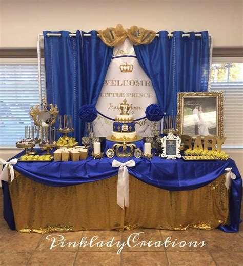 Royal Blue And Gold Baby Shower Ideas by 17 Best Ideas About Royal Baby Showers On