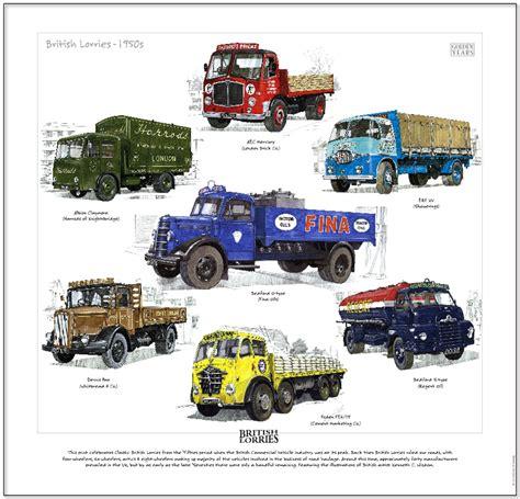 ebay motors lorries trucks lorries 1950 s print bedford erf albion