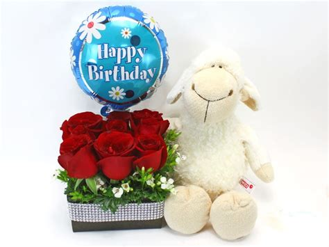 florist gift set happy birthday gift 3 l27153 give