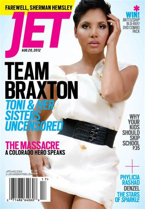 haircut and style magazine toni braxton shows off short pixie haircut on the cover of