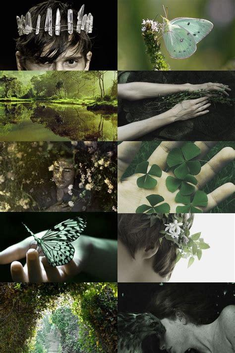 skogsra magic aesthetic fae aesthetic nature goddess