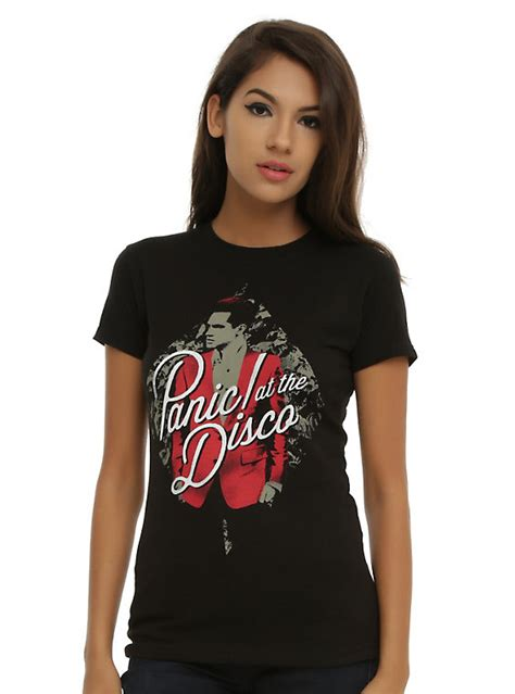 T Shirt Panic At The Disco Black panic at the disco jacket t shirt