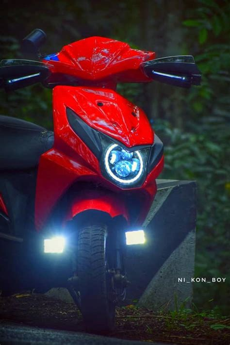 Modified Bikes With Lights by Modified Honda Dio With Eye Lights Modifiedx