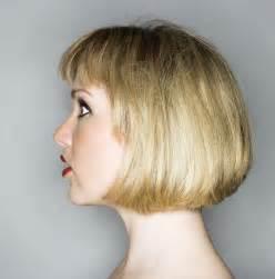 one length haircuts messy one length bob haircut with layered straight bangs 2017