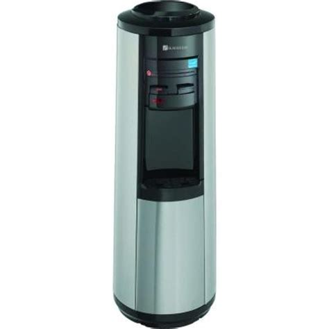 Dispenser N Cold glacier bay 3 gal or 5 gal room and cold water dispenser in black and stainless steel