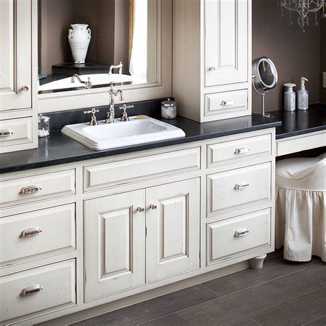 Countertop Cabinet Bathroom White Bathroom Cabinets With Countertops Edgarpoe Net
