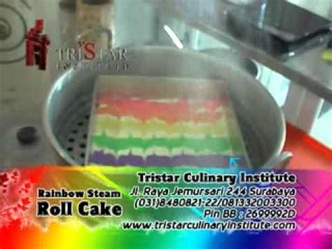 cara buat bolu kukus farah quinn pelatihan cara membuat rainbow roll cake diajarkan resep