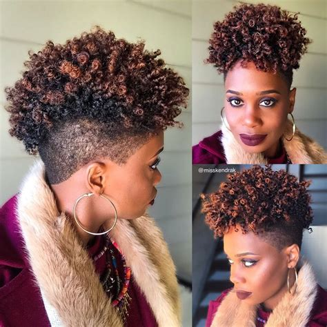 shaped and tapered natural hair cuts for ladies 17 best fierce tapered cuts images on pinterest natural