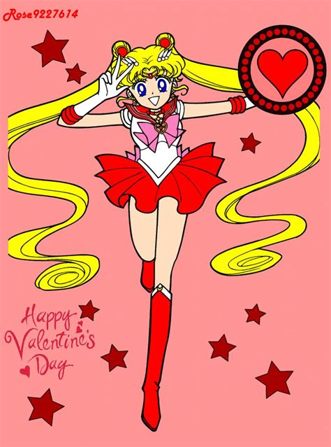 sailor moon valentines happy s day moon by rose9227614 on deviantart