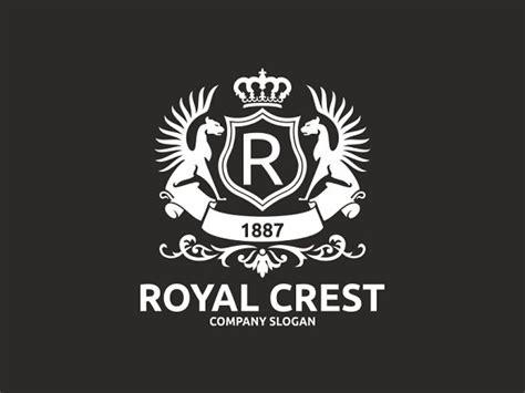 royal crest logo templates creative market