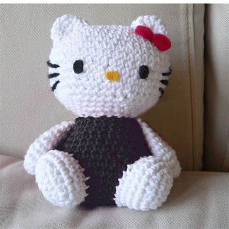 Pattern Crochet Hello Kitty | free crochet patterns hello kitty crochet pinterest