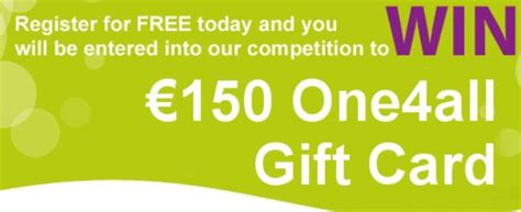 One4all Gift Card Ireland - win a euro150 one4all gift card irish deal