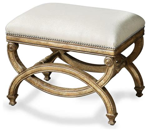 small bedroom benches karline bench small transitional upholstered benches