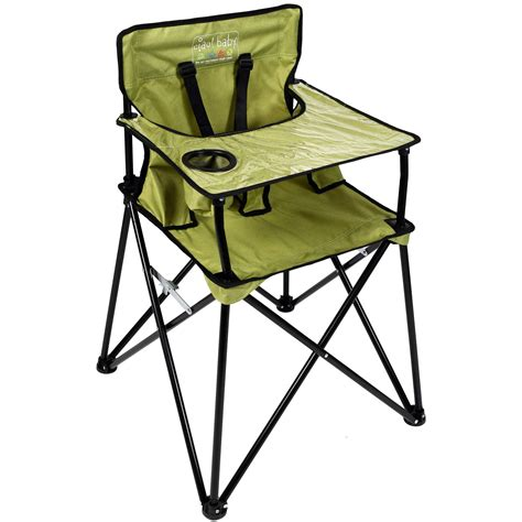 travel high chair with tray ciao baby portable high chair for travel