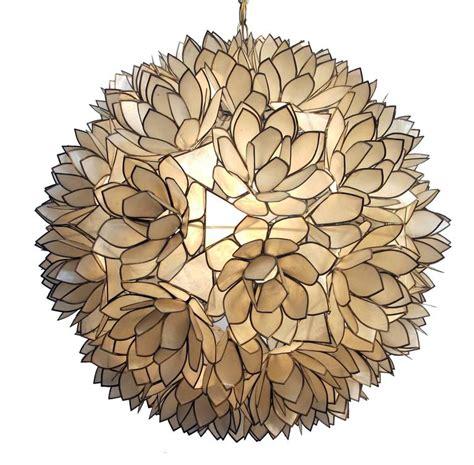 capiz shell pendant light large capiz shell pendant light fixture at 1stdibs
