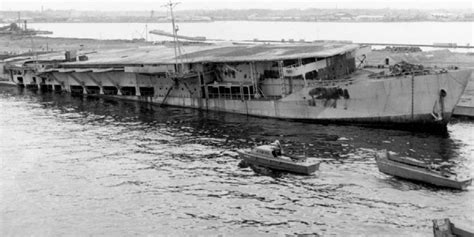 u boat aircraft carrier scuttled japanese aircraft carrier in tokyo bay submarines