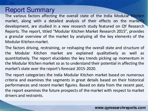 market research report modular kitchen market in india 2010 modular kitchen market in india 2015 industry analysis