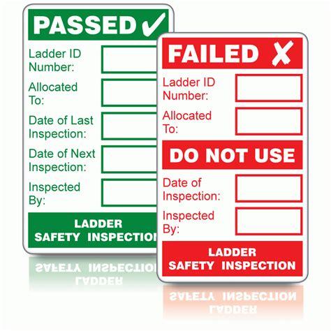 Safety Inspection Sticker