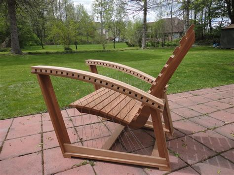 Adirondack Chair Design by Suspended Adirondack Chair Robby Cuthbert Design