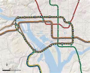 of at arlington cus map metro maps out loop line between dc and arlington