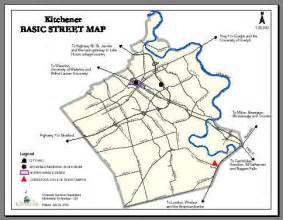 kitchener map