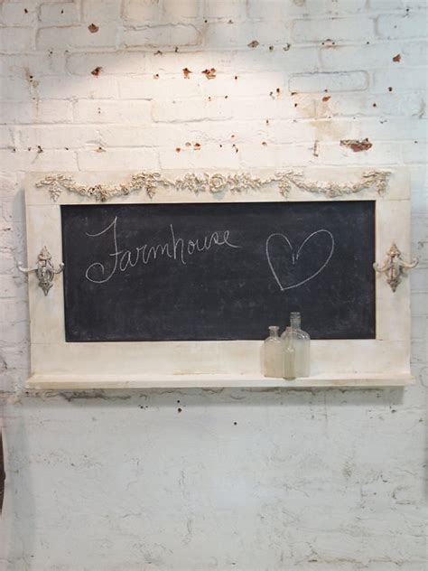 painted cottage chic shabby large chalkboard by