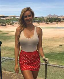 paige spiranac hits out at new dress code rules banning