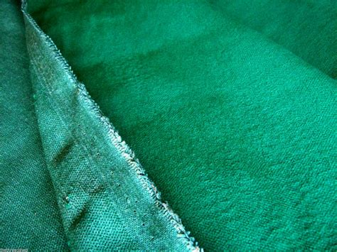 70s upholstery fabric 1y vintage upholstery fabric solid green nos 56w 50s 60s